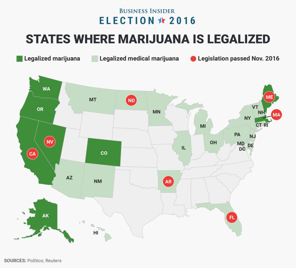 medical marijuana states
